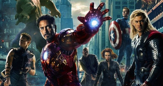 avengers movie poster The Avengers Official Poster: Maskless Superheroes Assemble