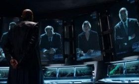 avengers nick fury 280x170 The Avengers: Loki Clip, Featurette & New Photo Gallery