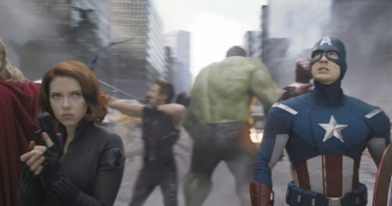 avengers second trailer The Avengers Early Reactions & Reviews; New Set Visit Video