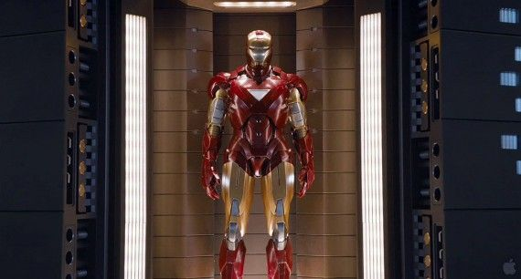 avengers trailer059 570x306 The latest Iron Man armor as seen in The Avengers