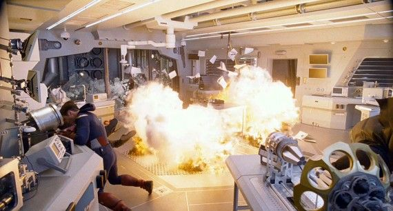 avengers trailer088 570x306 Looks like an explosion in Avengers Headquarters