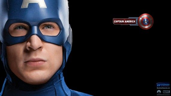 avengers wallpaper captain america 570x320 Avengers Wallpaper with Captain America
