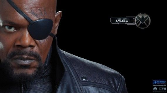 avengers wallpaper nick fury 570x320 Rumor Patrol: Captain America 2 Characters & S.H.I.E.L.D. Connection
