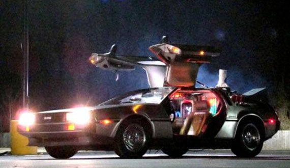 back to the future 25 Most Iconic Cars From TV & Movies