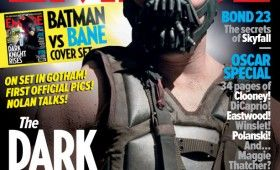 bane dark knight rises magazine 280x170 Dark Knight Rises: Official Batman & Bane Images; Liam Neeson Comments