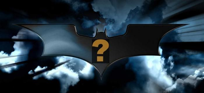 batman 3 question mark logo 1 Unknown Actor Listed as Robin In Batman 3, New Human Torch & More