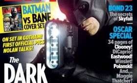 batman dark knight rises magazine 280x170 Dark Knight Rises: Official Batman & Bane Images; Liam Neeson Comments