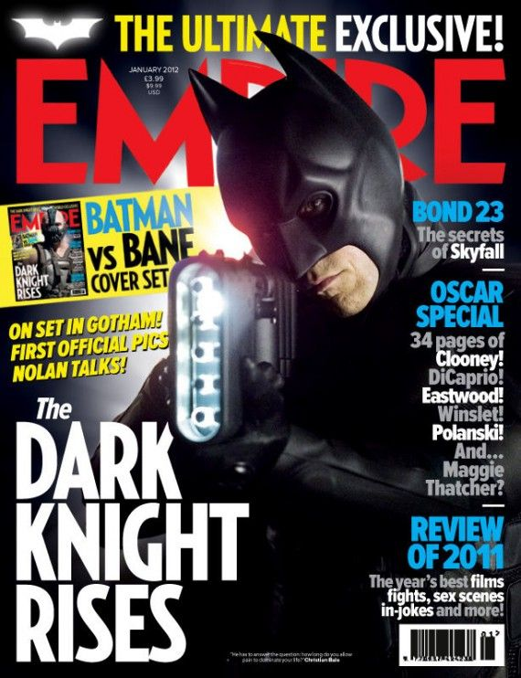 batman dark knight rises magazine 570x742 Christian Bale as Batman in The Dark Knight Rises
