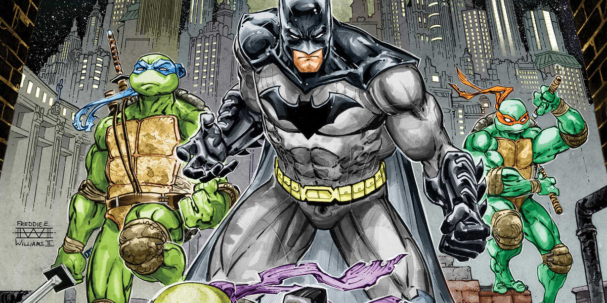 Batman TMNT Teenage Mutant Ninja Turtles