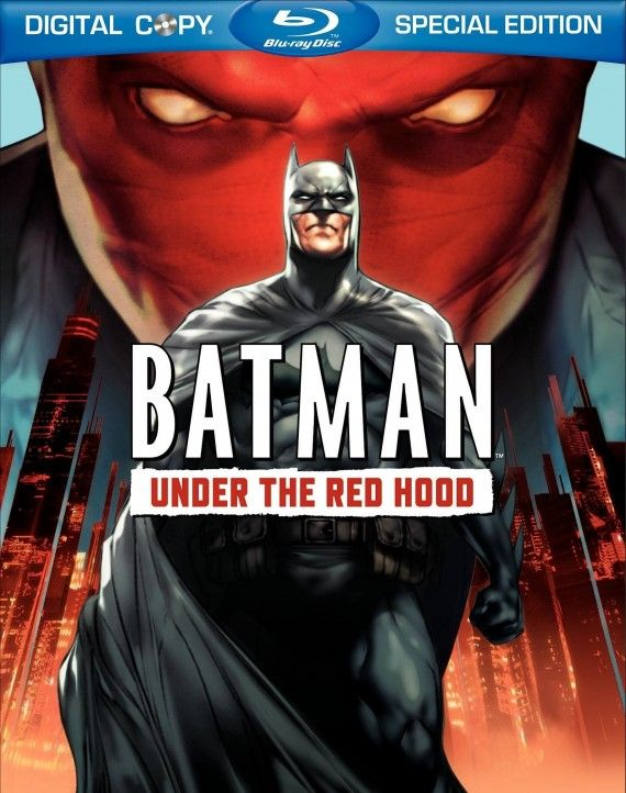 batman under the red hood cover 570x722 Batman: Under The Red Hood DVD Review