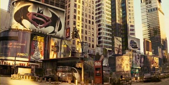 batman versus superman in i am legend Rumor Patrol: Batman/Superman Film In the Works?
