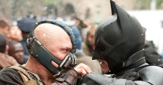 batman vs bane1 Does Dark Knight Rises Contradict The Dark Knight?