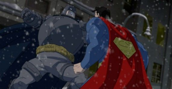 batman vs superman dark knight returns 570x294 Batman vs. Superman: Snyder Talks Dark Knight Returns Factor & Affleck