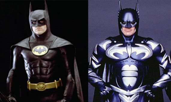 Batman vs Batman & Robin