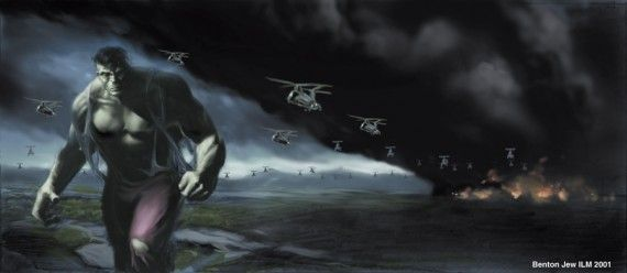 benton jew ang lee hulk concept art helicopters 570x248 Benton Jews Hulk Concept Art for Ang Lee