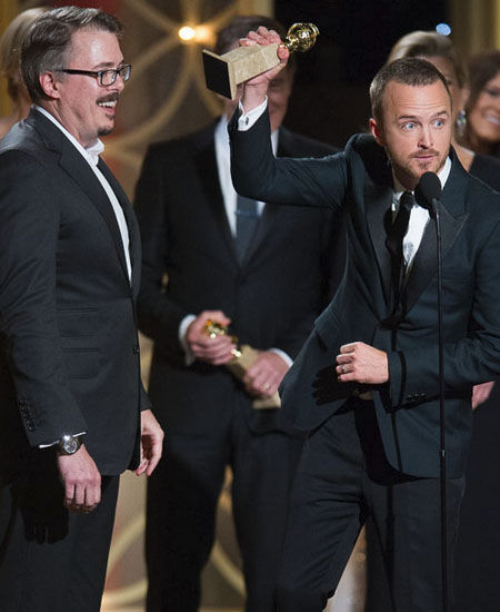 2014 Golden Globe Best Moments - Jessie Pinkman