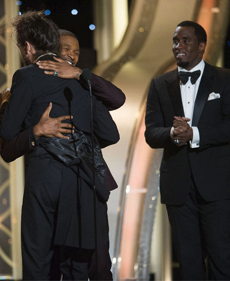 2014 Golden Globe Best Moments - Diddy