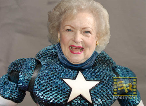 betty white captain america Captain America Finally Cast! (Well... Maybe Not)