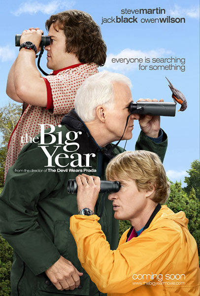 big year poster The Big Year Trailer: Bird Watching Is Both Wacky & Heart Warming