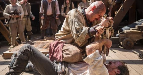 black sails season premiere flint Black Sails Series Premiere Gives the World of Pirates a Fresh Look