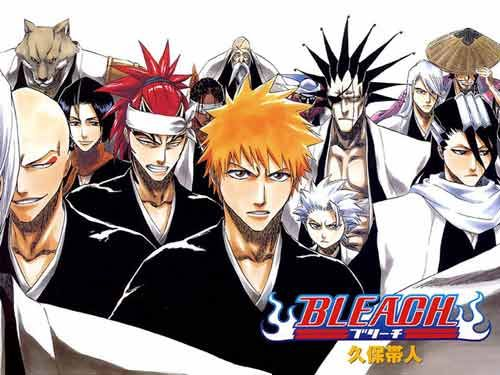 bleach manga Bleach Manga Attracts Warner Bros.