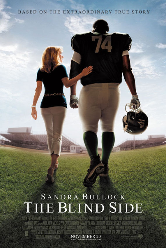 blind side poster sandra bullock Poster Friday: Toy Story 3, Saw VI, A Christmas Carol & Many More!