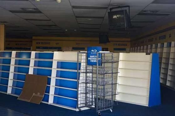 blockbuster1 Blockbuster Video Declares Bankruptcy