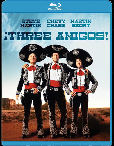 blu 3 amigos DVD/Blu ray Breakdown: November 22, 2011