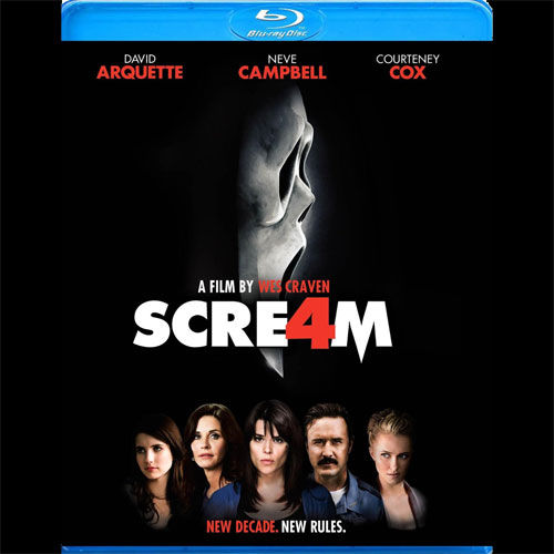 blu scream4 DVD/Blu ray Breakdown: November 22, 2011