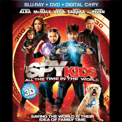 blu spy kids 4 DVD/Blu ray Breakdown: November 22, 2011