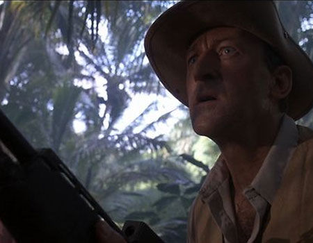 Robert Peck as Robert Muldoon from Jurassic Park