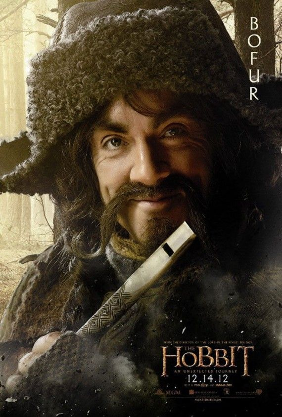 bofur hobbit poster 570x844 Bofur Poster for The Hobbit: An Unexpected Journey