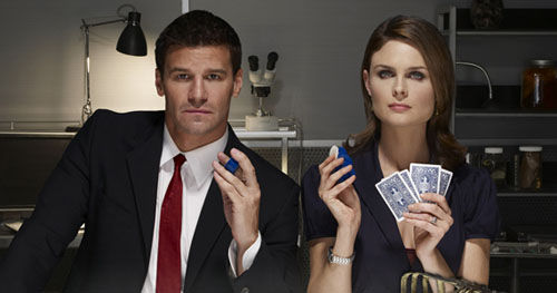 bones booth brennan2 Bones: 100th Episode Review & Discussion