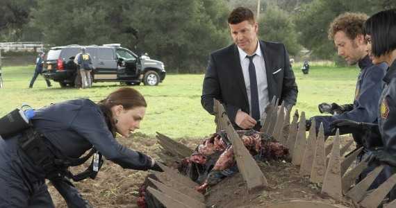 bones season 8 episode 17 crime scene Bones Season 8, Episode 17: The New Guy