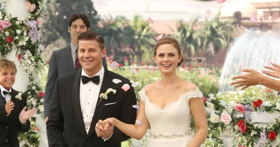 bones season 9 episode 6 Booth Brennan Married Bones Celebrates Marriage With an Homage to the Past
