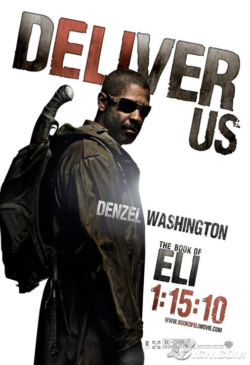 book of eli poster denzel washington Poster Friday: Clash of the Titans, Iron Man 2 & More!
