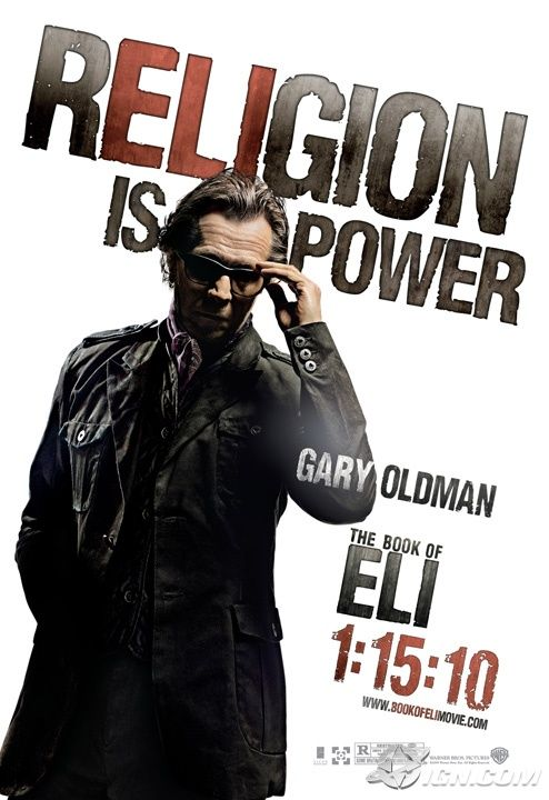 book of eli poster gary oldman Poster Friday: Clash of the Titans, Iron Man 2 & More!