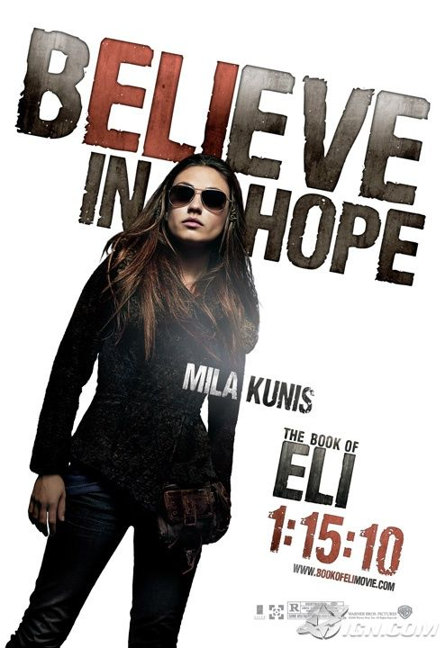 book of eli poster mila kunis Poster Friday: Clash of the Titans, Iron Man 2 & More!