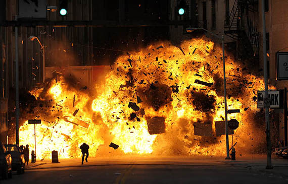 boom4 Explosions Galore on the Set of Red Dawn
