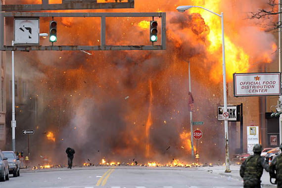boom6 Explosions Galore on the Set of Red Dawn