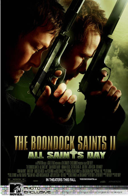 boondock saints 2 all saints day poster Poster Friday: Toy Story 3, New Moon, Pirate Radio & More!