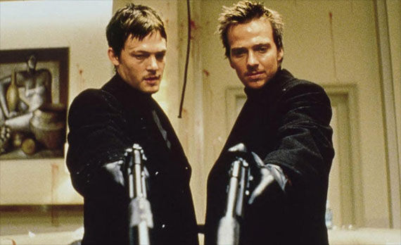 Norman Reedus and Sean Patrick Flanery in Boondock Saints II 2