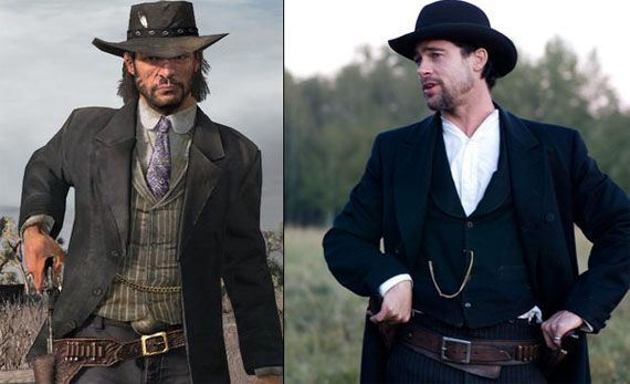 brad pitt john marston red dead redemption Brad Pitt Interested in Red Dead Redemption Movie