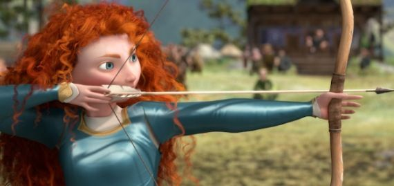 brave merida pixar Brave Interview: Director Mark Andrews on Pixars Princess Tale & Annoying Teenagers