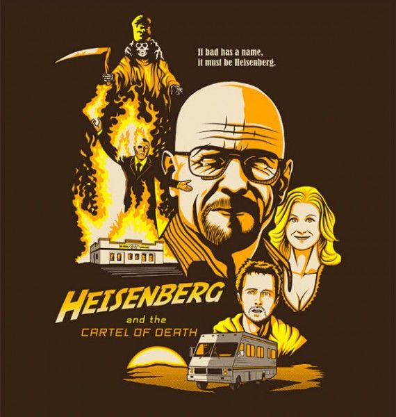 breaking bad shirt 570x600 SR Geek Picks: Death Troopers, Nerf Herders, The Avengers Facebook Timeline and More...
