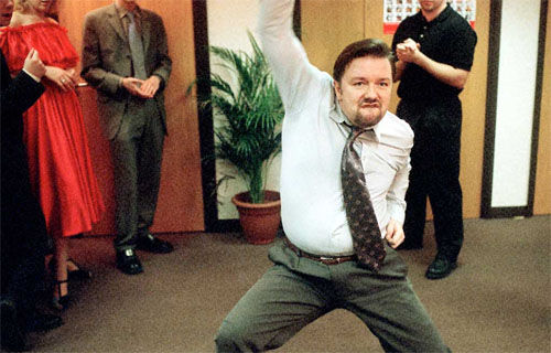 brent dance Ricky Gervais WILL Appear Stateside In The Office