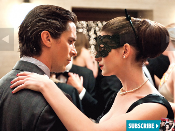 bruce wayne selina kyle dark knight rises 570x427 Bruce Wayne and Selina Kyle in The Dark Knight Rises
