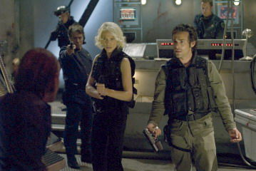 bsg finale caprica and balter Battlestar Galactica Finale Review