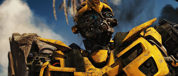 bumblebee close up The Last New Transformers 2 Photos!