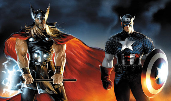 captain america and thor costumes Thor & Captain America Costume Designs?